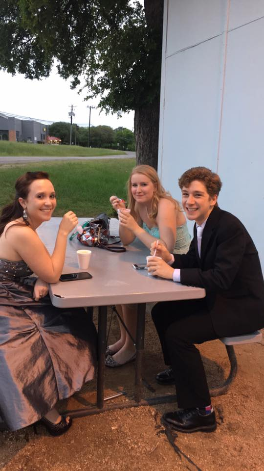 See, it's even cool to have a Zydeco Ice snocone on prom night!