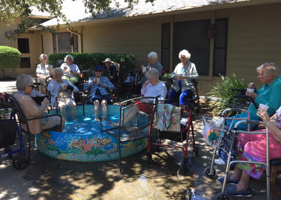 We could not be prouder to supply Park Place Care Center residents some Zydeco Ice syrups to enjoy on these hot summer days!