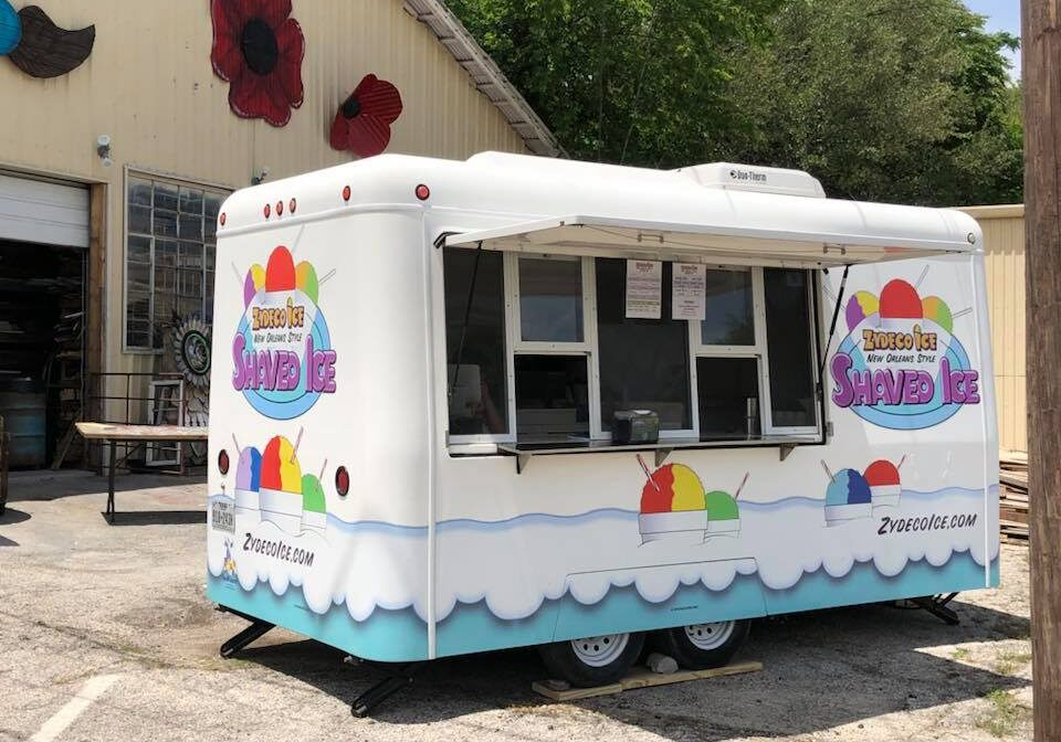 snow cone trailer rental events